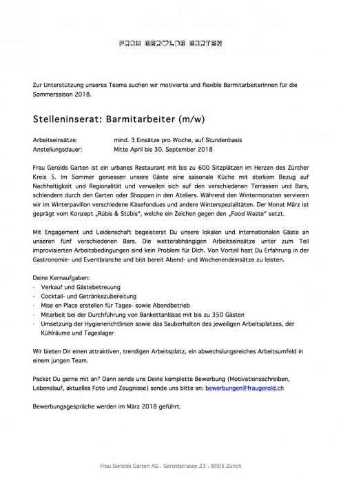 Frau Gerolds Garten | Sonnenterasse, Sommerrestaurant, Winterstube ...