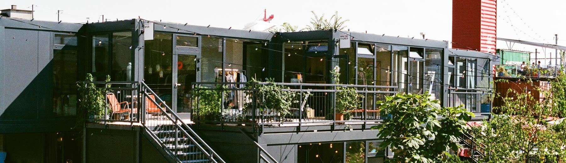 Shop Container im Frau Gerolds Garten