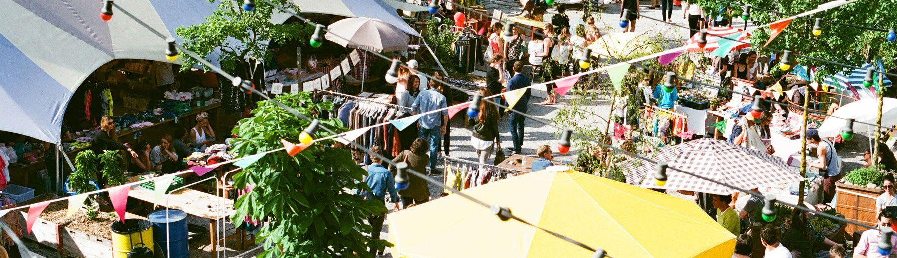Markt bei Frau Gerold